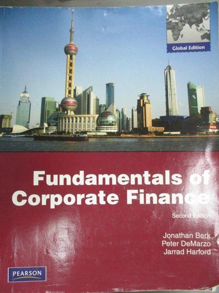 【書寶二手書T5/大學商學_ZIX】Fundamentals of Corporate Finance_Jonathan