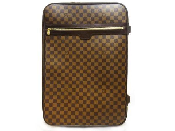 LV LOUIS VUITTON 路易威登 棋盤格行李箱 PEGASE LEGERE 55 N23294【BRAND OFF】