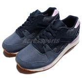Reebok 復古慢跑鞋 GL 6000 WR 深藍 粉紫 膠底 英國國旗 運動鞋 女鞋 【PUMP306】 AQ9826