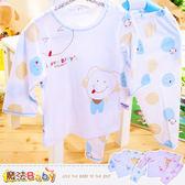 嬰幼兒居家套裝 專櫃正品薄長袖舒柔套裝睡衣藍粉魔法Baby