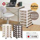 文件櫃 檔案櫃 公文櫃【JEJ026】日本JEJ APLOS B4系列 文件小物收納櫃深型6抽 附輪 收納專科