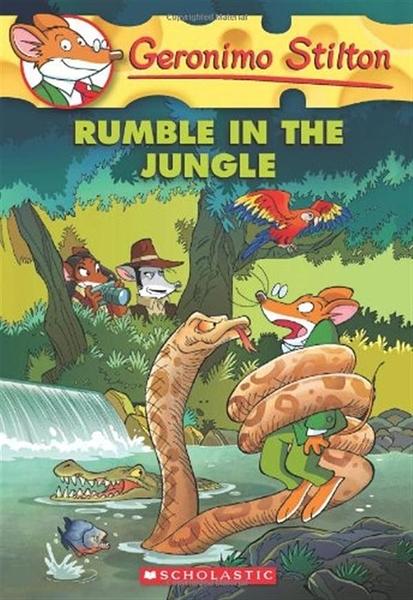 (二手書)Geronimo Stilton(53):Rumble in the Jungle