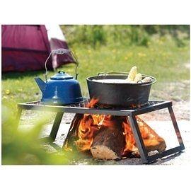 【速捷戶外露營】COGHLANS #1130 鑄鐵烤架 HEAVY DUTY CAMP GRILL 露營用品