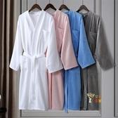睡袍 酒店浴袍五星級男女士浴衣棉質毛巾料睡袍長款情侶冬棉質吸水速幹 4色XS-XL