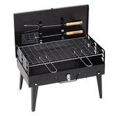 手提自助家庭野外戶外燒烤爐木炭3人-5人小型烤箱燒烤架可折疊BBQYXS