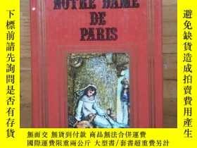 二手書博民逛書店NOTRE-DAME罕見DE PARIS--巴黎聖母院(法文原版