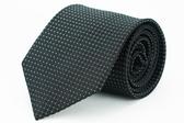 【Alpaca】黑色格紋領帶