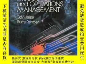 二手書博民逛書店Production罕見and Operations Manag
