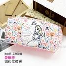 ☆小時候創意屋☆ 迪士尼 正版授權 花圈 愛麗絲 系列 帆布 化妝包 鉛筆盒 收納包 行動電源包