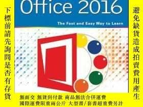 二手書博民逛書店Teach罕見Yourself VISUALLY Office 2016Y410016 Elaine Marm