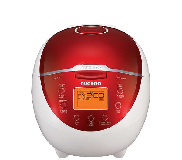 Cuckoo 福庫微電腦炊飯電子鍋 CR-0655F  韓國人氣品牌  30分鐘快速煮飯  13小時智能預約
