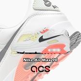 Nike 休閒鞋 Wmns Air Max 90 白 綠 黃 橘 女鞋 氣墊 運動鞋【ACS】 CV8819-101