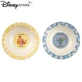日本 Disney Store 迪士尼商店 限定 維尼家族&史迪奇 家族 2入 餐盤 盤子套組
