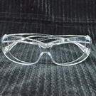 【DB375】透明護目鏡060可包覆眼鏡 強化安全防護鏡(台灣製)生存遊戲 防疫必備 抗UV EZGO商城