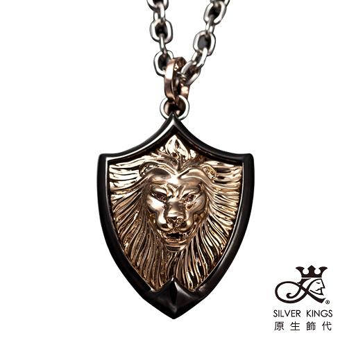 原生飾代SilverKings-王者之聲-316L白鋼項鍊(超大型氣勢版)-金