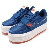 Nike Wmns Vandal 2X Surprise 2K 藍 白 紅 厚底 增高 女鞋 休閒鞋 【PUMP306】 AO2868-400