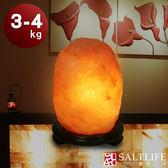 【鹽夢工場】原礦系列-玫瑰鹽燈(3-4kg|特製座)