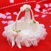 618好康鉅惠婚禮花童撒花小花籃 結婚慶裝飾用品