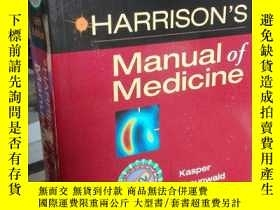 二手書博民逛書店Harrison s罕見Manual of Medicine: