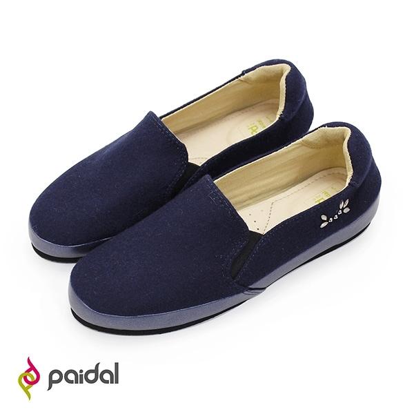 Paidal 情人眼淚貼鑽懶人鞋樂福鞋休閒鞋