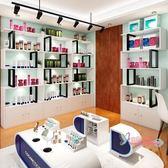 展示櫃 化妝品展示櫃產品展示架美容院貨櫃辦公室隔斷櫃置物架陳列櫃組合T