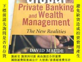 二手書博民逛書店Global罕見Private Banking and Weal