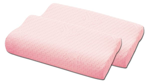 Medlight 美德耐典藏記憶頸椎枕(粉紅)一對   *維康