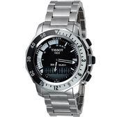 TISSOT 天梭 SEA-TOUCH 觸控多功能潛水錶-黑 T0264201105100