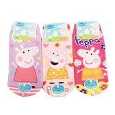 【KP】佩佩豬兒童襪 直版襪 卡通襪 襪子 短襪 粉紅豬小妹 15-22cm  DTT0522136