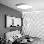 超薄led吸頂燈圓形 LED客廳燈 臥室燈 餐廳書房過道走廊入戶燈具台灣110V專用