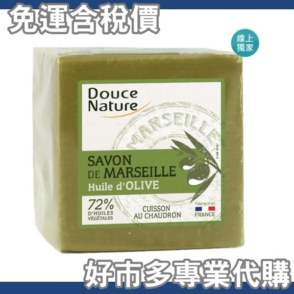 【免運費】【好市多專業代購】Douce Nature 法國馬賽皂 肥皂 600公克 4入