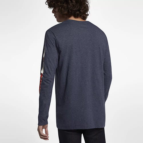 Hurley JJF NAUTIC 長袖T恤-藍(男)