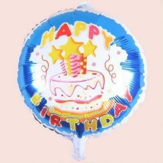 happy birthday(F23)18吋鋁箔氣球(未充氣)~~求婚道具/婚禮 會場 耶誕節 尾牙佈置