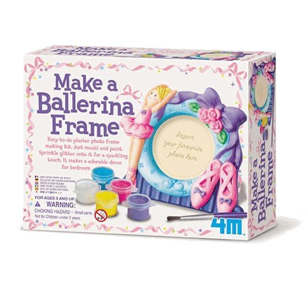 【4M】02741 美勞創意-芭蕾舞者的相框 MAKE A BALLERINA FRAME