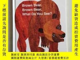 二手書博民逛書店Brown罕見Bear, Brown Bear, What Do You See? My First Reader
