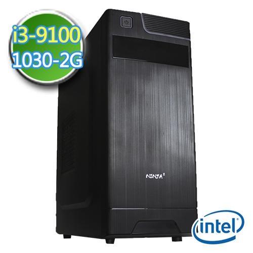 華碩H310平台【EI391-AH31K05】i3四核 GT1030-2G獨顯 1TB效能電腦