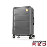 Samsonite RED 25吋Toiis L 極簡跳色方正線條PC硬殼行李箱(灰)
