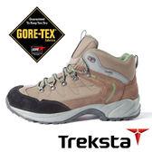 Treksta BACK COUNTRY 男 GORE-TEX 防水中筒登山鞋 (輕量 / 護趾 / 加強抓地力) 咖啡 KR16LMA 戶外|健行鞋