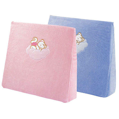 【奇買親子購物網】六甲村 Mammy village孕婦側睡枕(毛巾布)