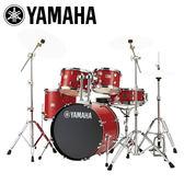 小叮噹的店-全新 YAMAHA RYDEEN 紅色爵士鼓(5件套組) RDP2F5 加附鼓毯 鼓椅 公司貨