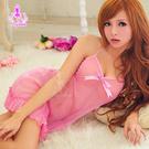 性感睡衣 緋色天空!柔美浪漫二件式睡襯裙 愛的蔓延 MNA11020059