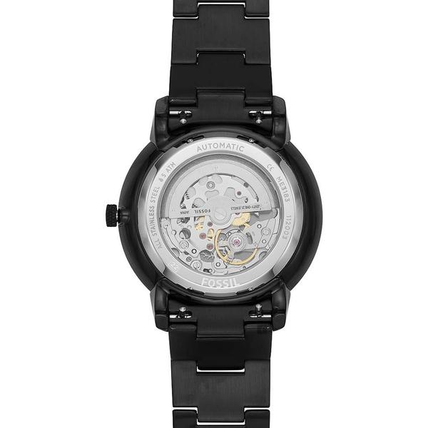 FOSSIL NEUTRA 古銅金 鏤空機械錶-44mm ME3183
