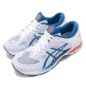 【六折特賣】Asics 慢跑鞋 Gel-Kayano 26 白 藍 全新穩定科技 輕量透氣 運動鞋 男鞋【ACS】 1011A541100