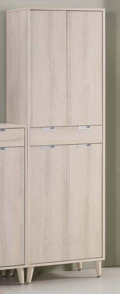 【森可家居】愛莎6尺高鞋櫃(不含2.7尺低鞋櫃) 7CM352-1 木紋質感 北歐風