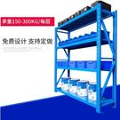 貨架倉儲家用倉庫置物架鐵架子多層貨物架子多功能展示架自由組合 NMS小明同學