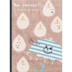 《☆享亮商城☆》AF1603 Bon courage 25K筆記本-雨傘