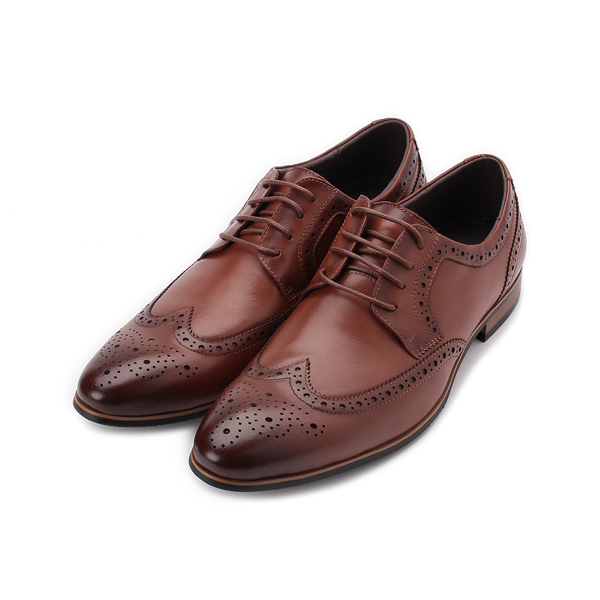 Meurieio Belliei 雕花德比紳士皮鞋 棕 3658-12A 男鞋 鞋全家福