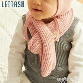 秋冬季純棉寶寶圍巾女加厚保暖兒童圍巾韓版嬰兒圍巾男圍脖0-3歲解憂雜貨鋪