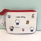 【震撼精品百貨】Hello Kitty 凱蒂貓~Hello Kitty 凱蒂貓面紙化妝包-白