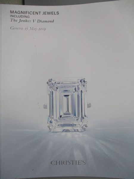 【書寶二手書T9/收藏_YIF】Christie s_Magnificent Jewels…2019/5/15